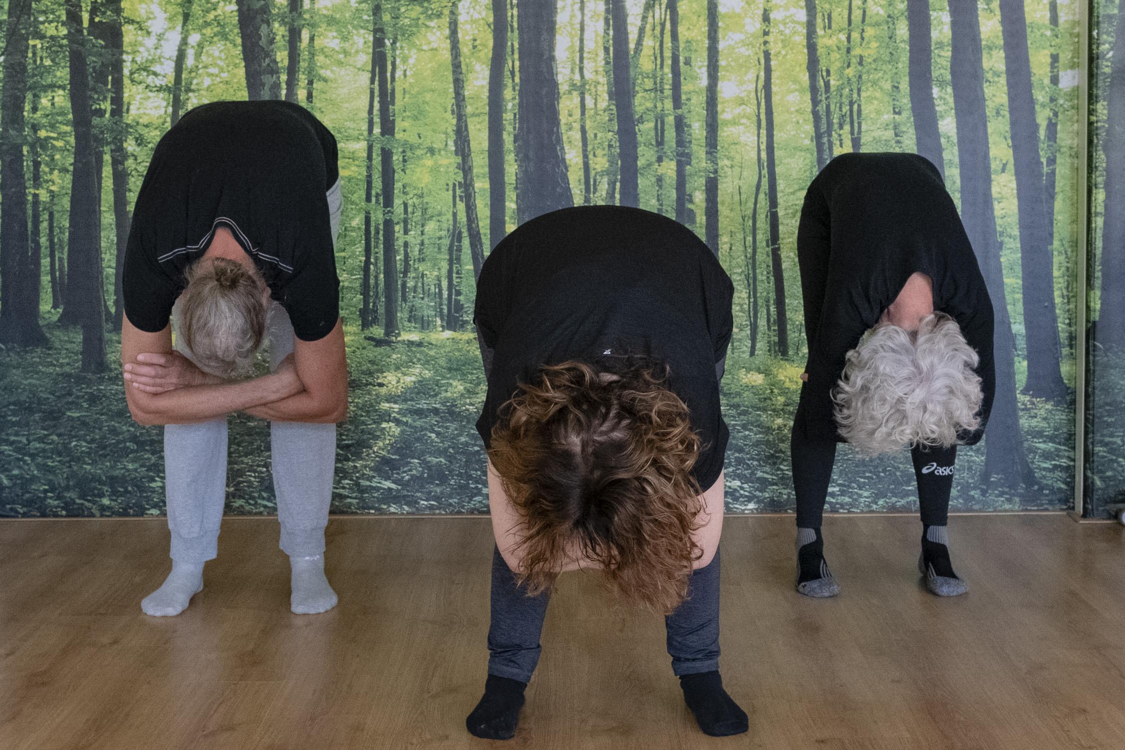 Dangling Yin Yoga