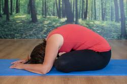 Square Pose Yin Yoga
