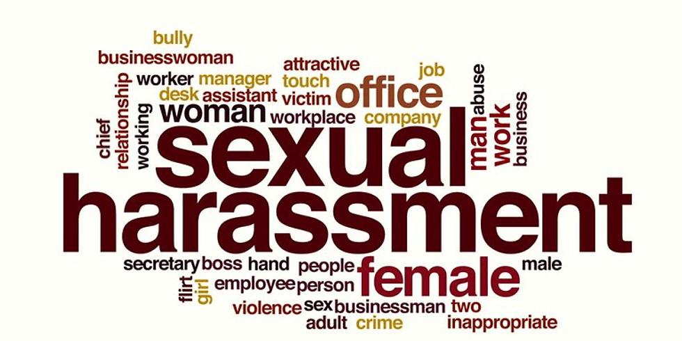 Sexual Harassment Avoidance Training for Supervisors