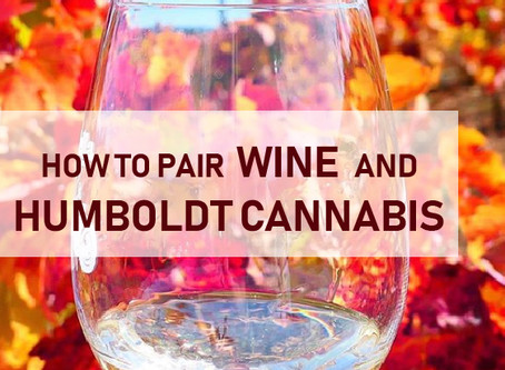 How to pair wine and Humboldt cannabis