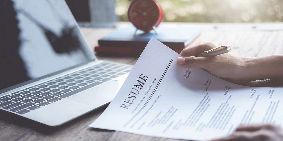 Resume writing for employment in alternative ag