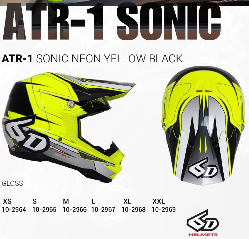 Sonic Neon Yellow Black