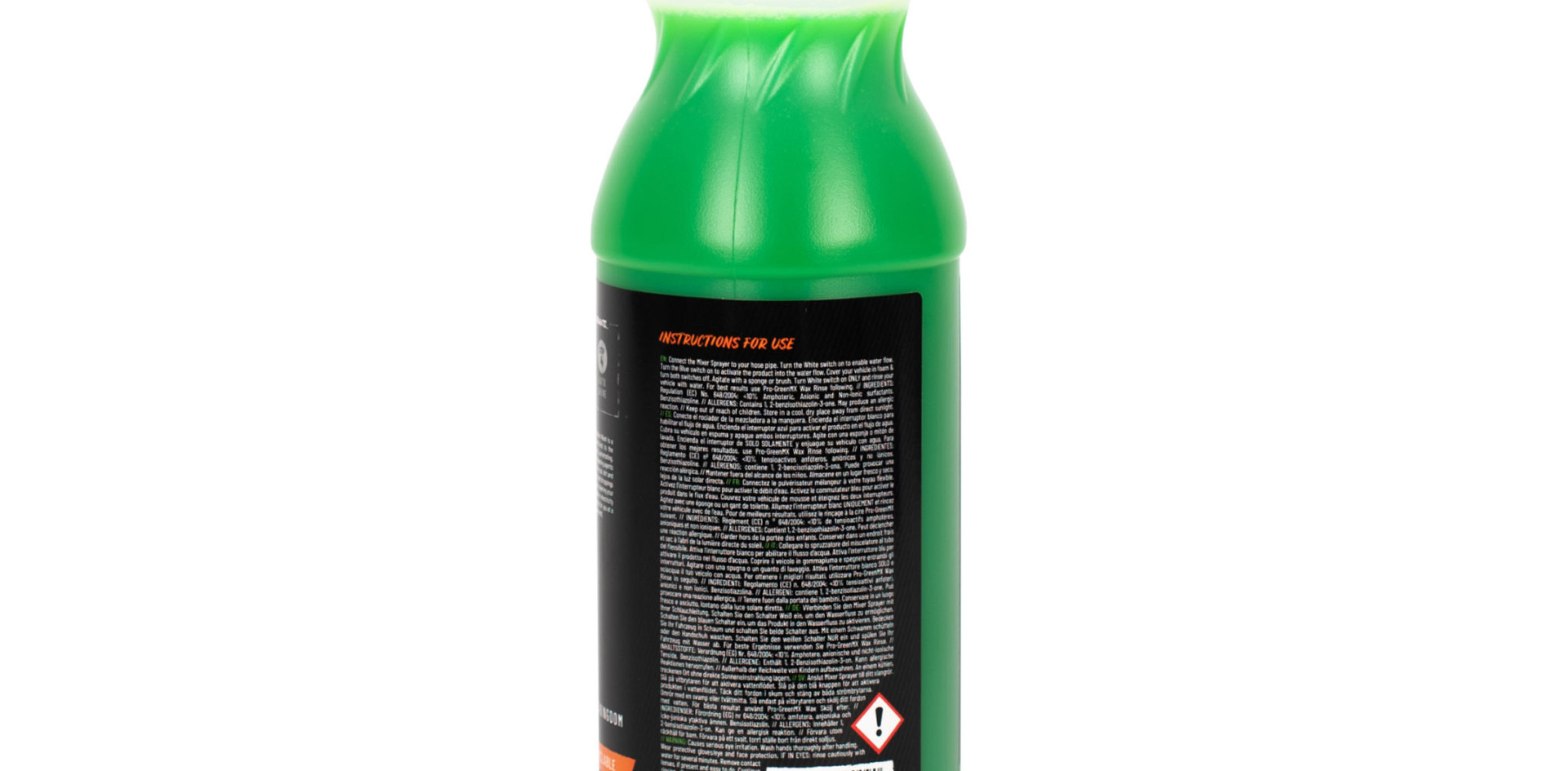 PRO GREEN MX 1L CONCENTRATED VEHICLE WASH