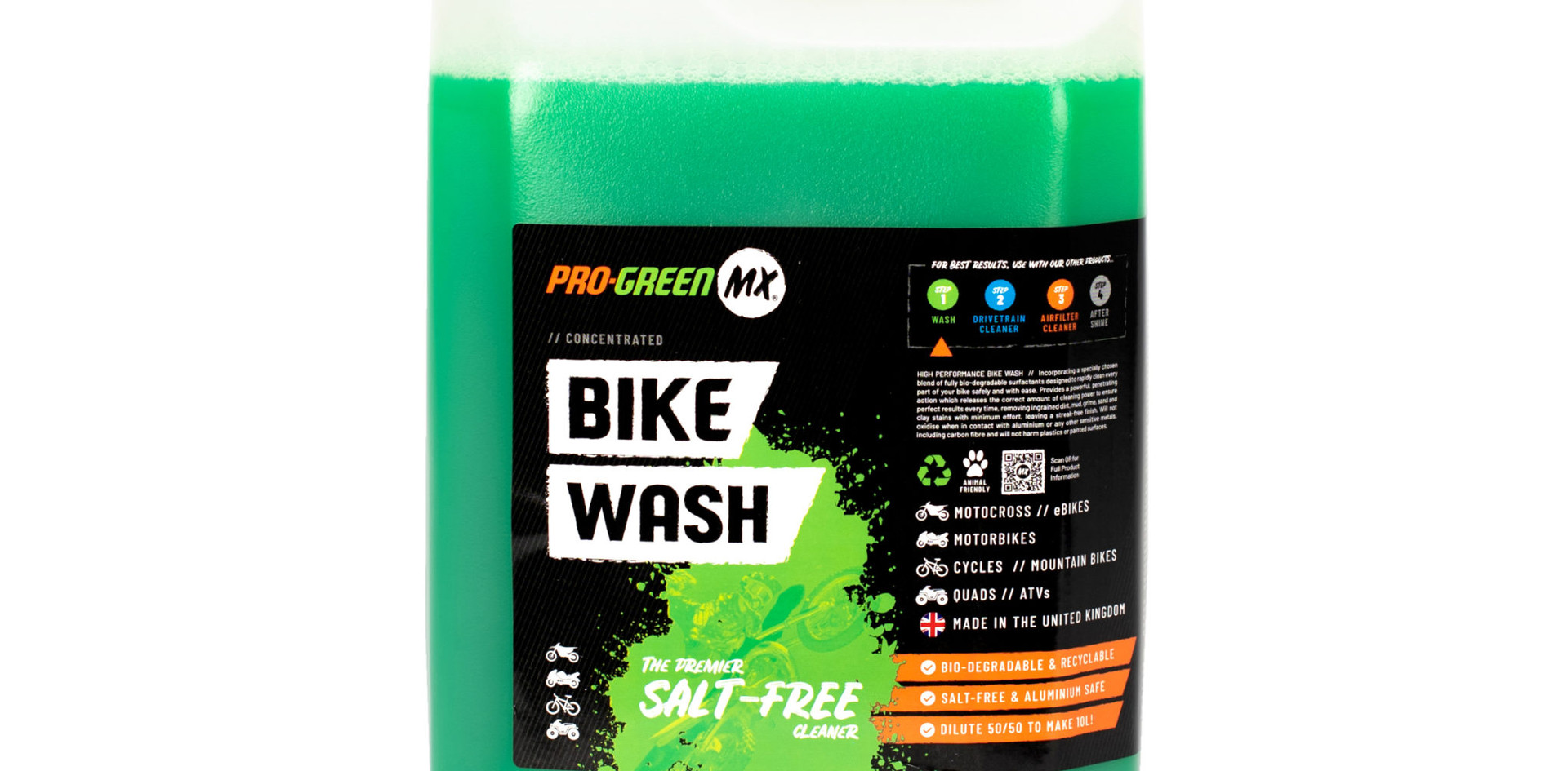 Pro Green MX 5L Concentrated Bike Wash Refill