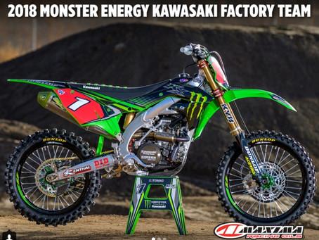 Maxima Racing Oils & Monster Energy Kawasaki Factory Team 2018