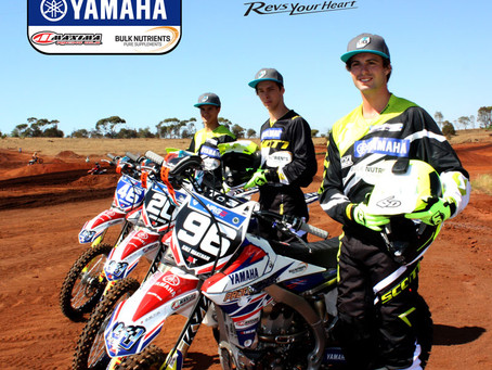 Proformance Yamaha Maxima Oils/Bulk Nutrients Race team