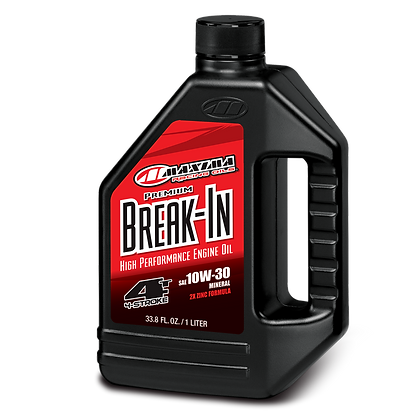 Maxima Premium Break-In Oil