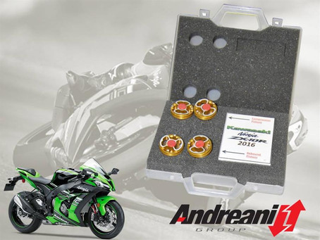 New Andreani Piston Kit and Spring Position Modification for Kawasaki ZX-10R 2016