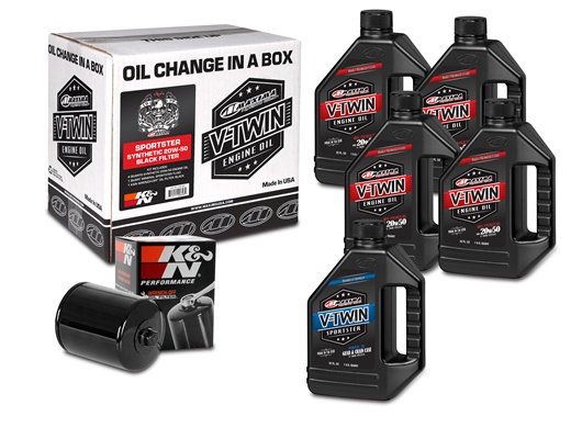 Sportster Synthetic 20W-50 Black Kit (90-119015B)