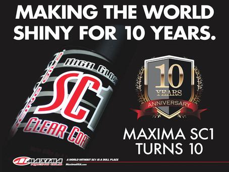 MAXIMA SC1 TURNS 10!