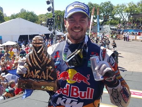 PRICE WRITES HISTORY WITH DAKAR GOLD