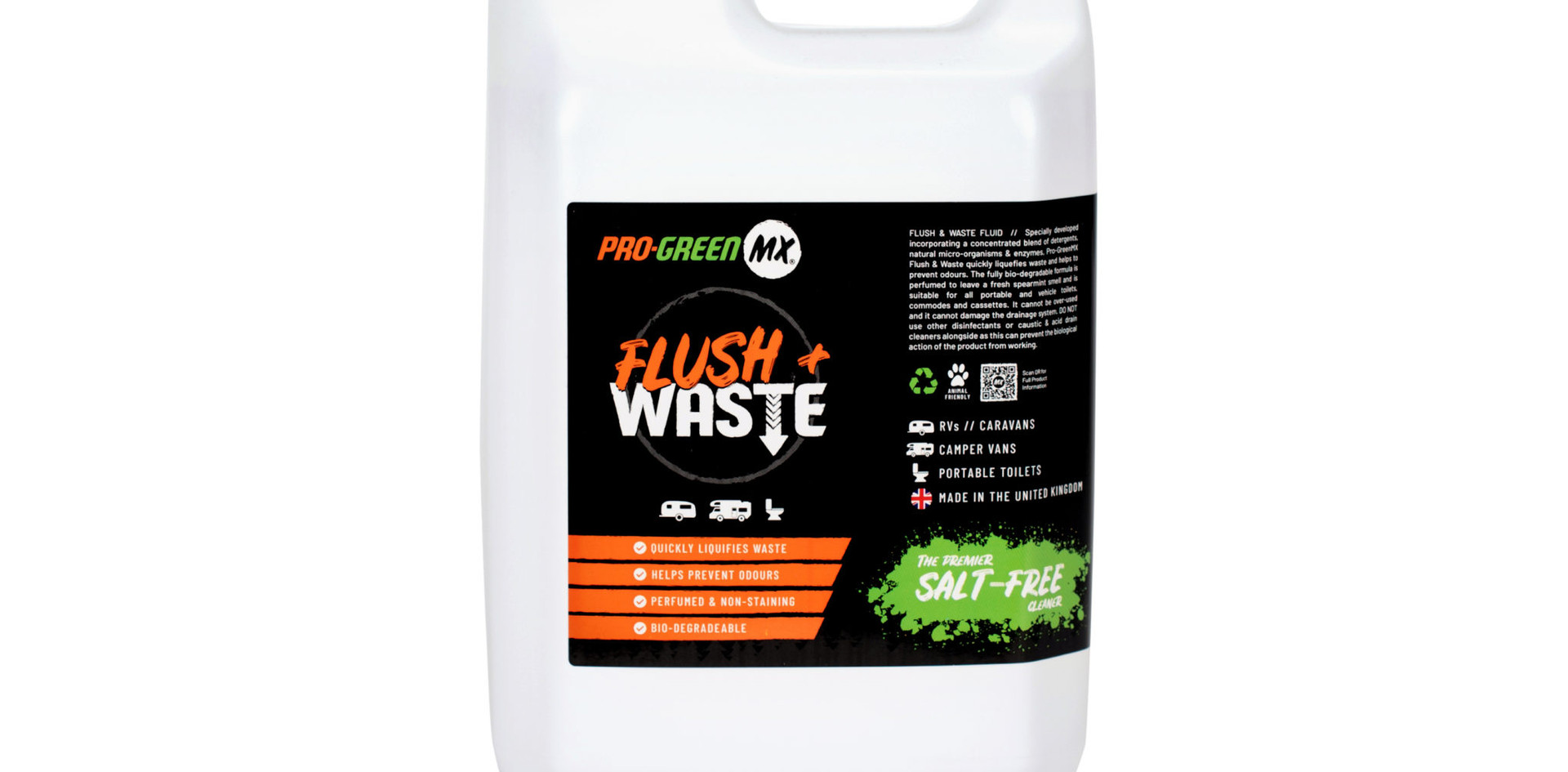 PRO GREEN MX FLUSH & WASTE FLUID REFILL