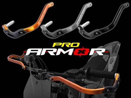 The best hand guards for extreme Enduro racing use. Comes with side plastic bumpers and durable bar