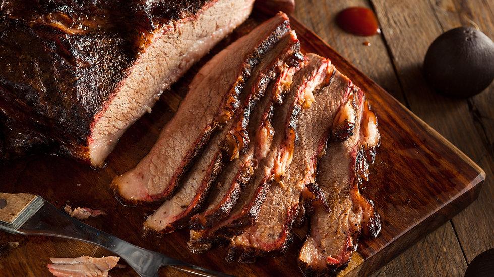 Texas Smoked Beef Brisket