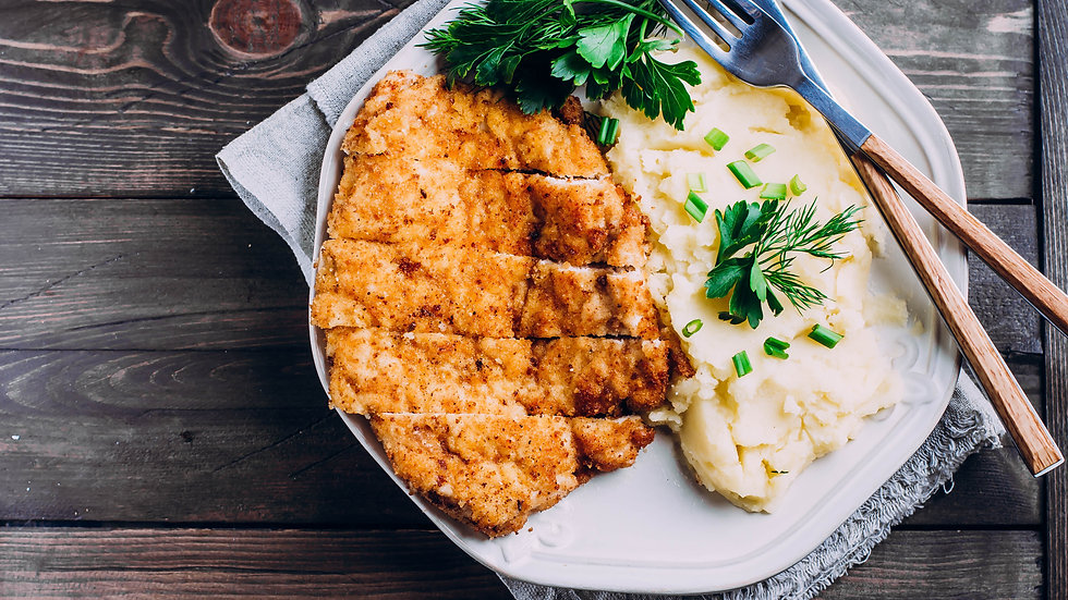 Traditional Chicken  Schnitzel