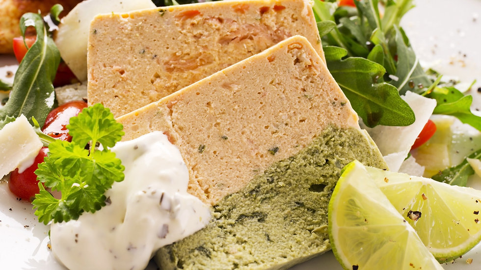Salmon & Gefilte Fish Terrine