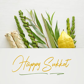 Jewish festival of Sukkot. Traditional s