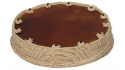 Cappuccino Cake - 9 inch round