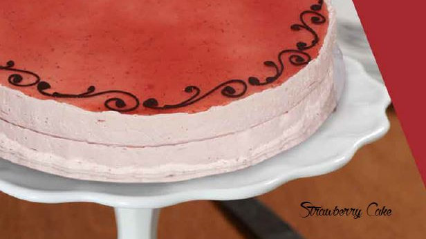 Berry Mousse Cake - 9 inches round