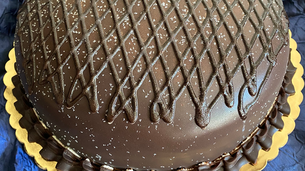 Chocolate Dome Cake - 10 inches