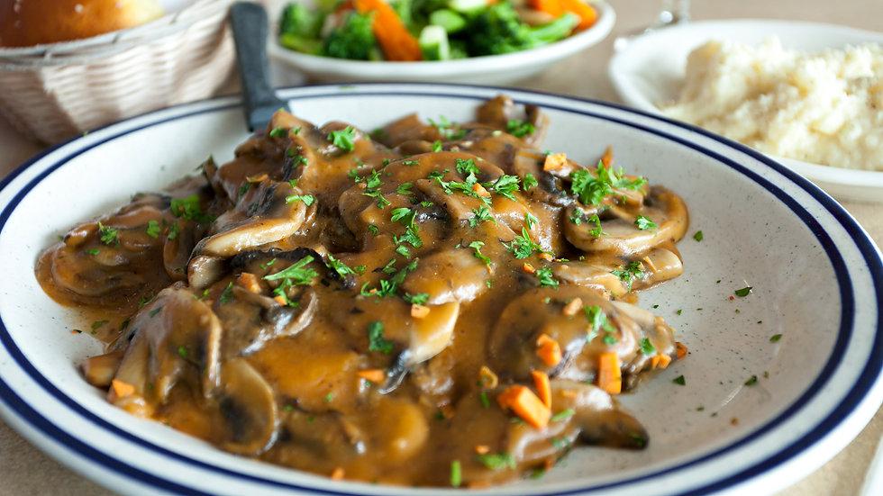 Pan Seared Chicken Marsala with Mushrooms