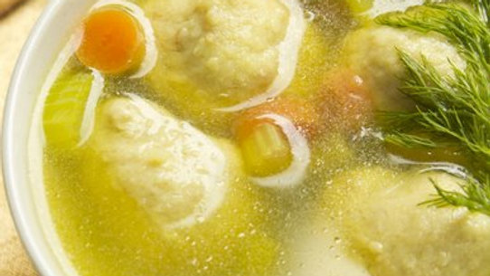 Chicken & Matzo Ball Soup