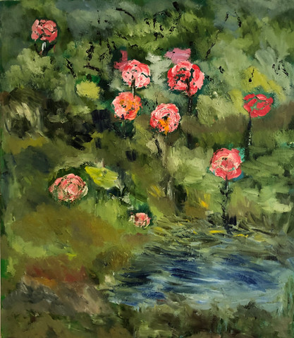 P21– Flowers Beside the Lake