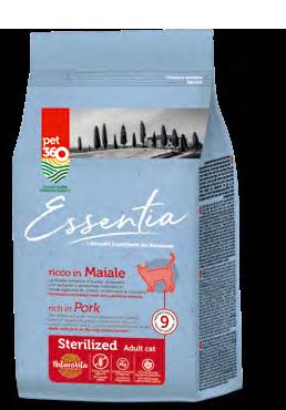 אסנשיה - אוכל לחתול בוגר בטעם חזיר