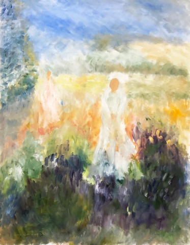 P42 – Woman in White, inspired by Monet