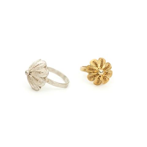 J31- Hand made filigree ring,  $270 each