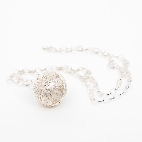 J8 - Hand made filigree ball  $290