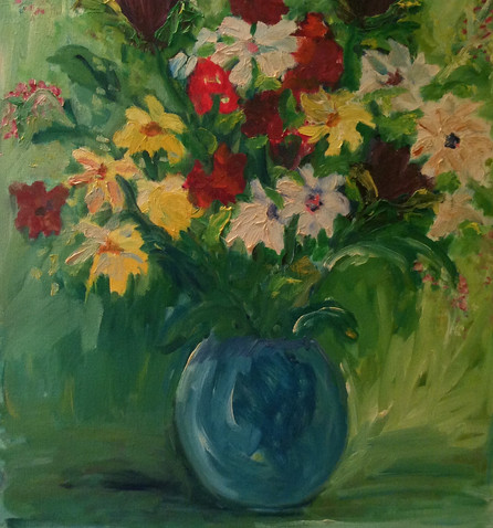 P55 – Flowers in Vase