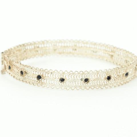 J22 – Hand made filigree antique bracelet  $570