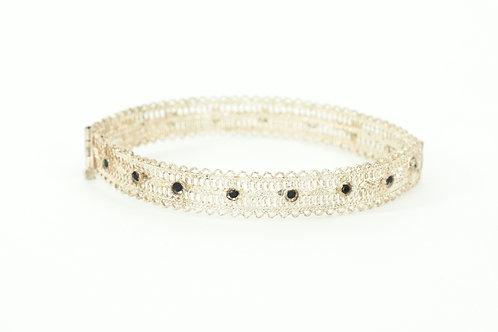 J22 – Hand made filigree antique bracelet