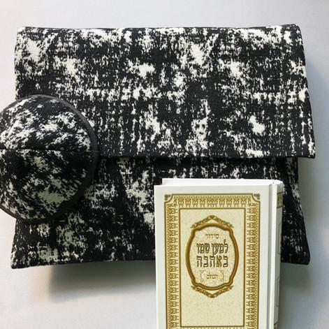 Set of kipa & tallit bag -TA1