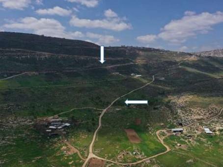 פריצת וסלילת דרכים פלסטיניות בשטחי C