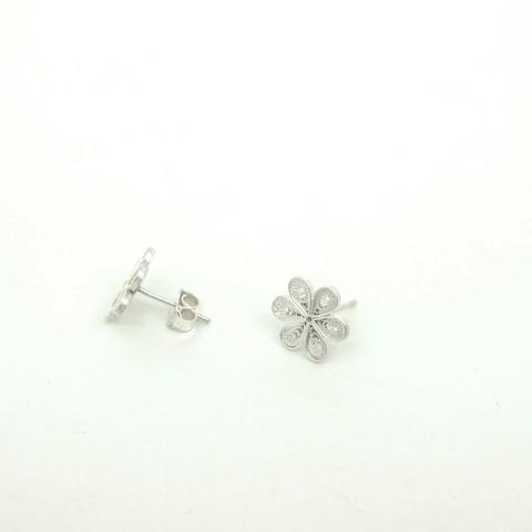 J30 – Hand made filigree earrings  $120