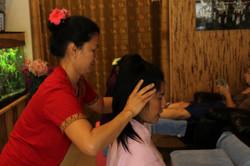 siam thai head massage