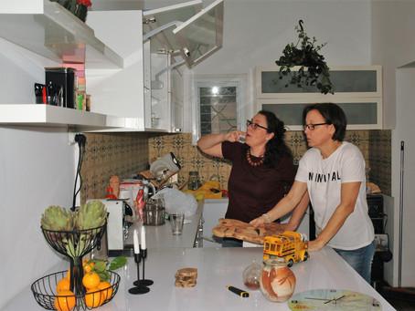 סידור ארון מטבח