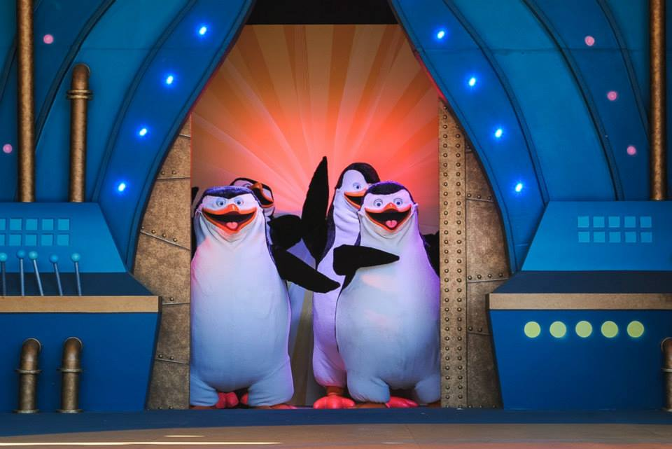 Dreamwork's Penguins of Madagascar