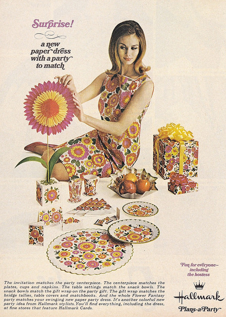 Dare to Tear: Paper fashions in the 1960s