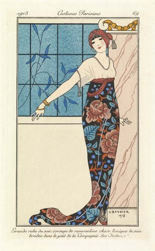 Costumes Parisiens, Fashion Plates from 1912-1914