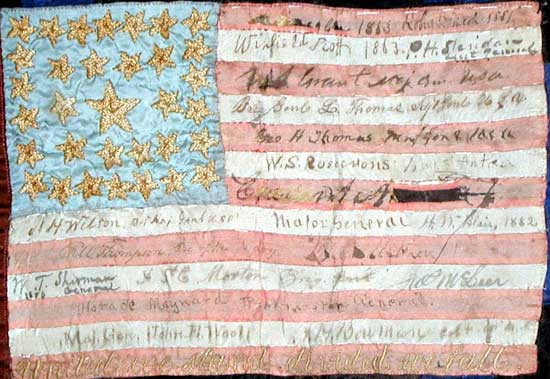 Signature Quilts in the 'Land of the Free'