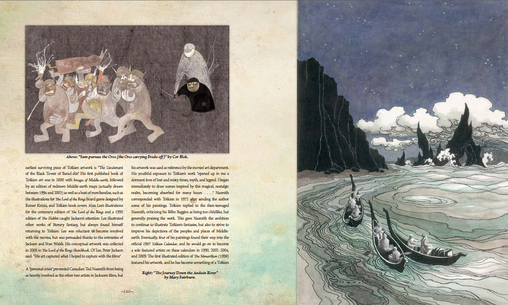 A rich catalogue of visual imagery from the painstakingly crafted world of J.R.R. Tolkein