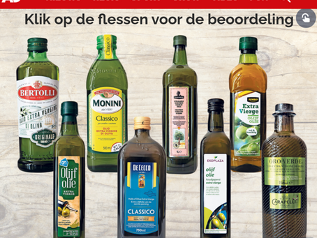 (NL) Olijfolies in AD test 2020