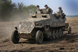 Sd.Kfz. 251 (2 of 3 in the unit)