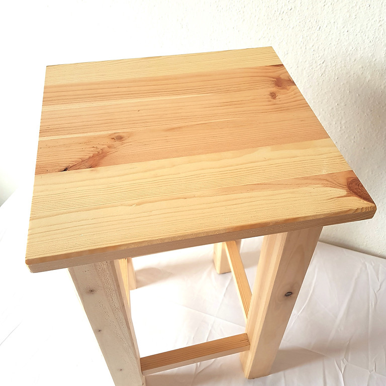 Holzkurs Hocker bauen