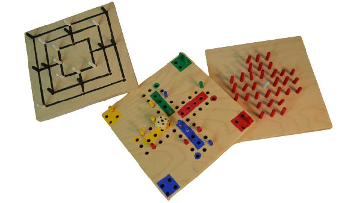 "Diy-Werkbox Mini ""Brettspiel selber bauen"""
