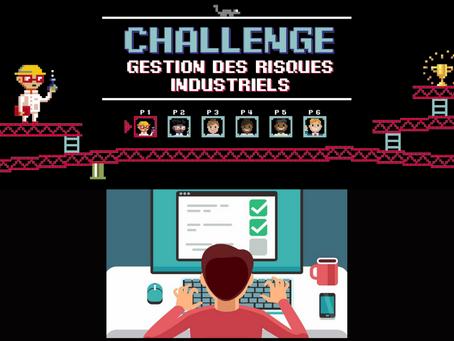 """Merci de répondre au questionnaire du Challenge """"Gestion des risques industriels"""""""