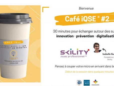 Les cafés iQSE® #2 - Isabelle Guenet et SKILITY